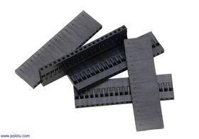20-Way Crimp Housing for Pre-Crimped Wires