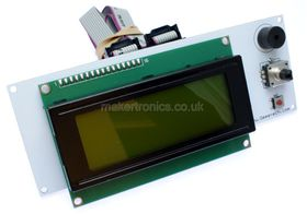 3D Printer RepRap Smart Controller 20x4 Green LCD for Ramps 1.4 or Ultimaker
