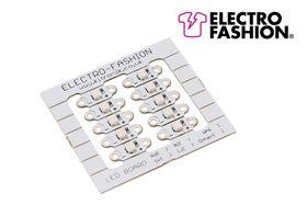 Electro-fashion Sewable Green LED Light Pack of 10