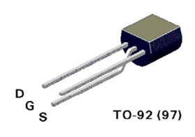 BS270 N Channel MOSFET 0.4A 2R 60V
