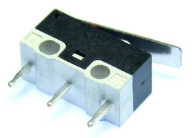 Subminiature microswitch with 13.5mm lever