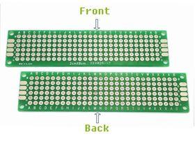 ProtoBoard Double Sided 2cm x 8cm (6x28 point)