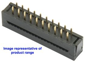 50-Way 2.54mm Pitch IDC PCB Mount Transition Connector