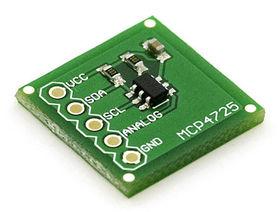 MCP4725 I2C DAC Breakout Board