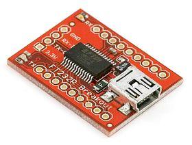 FT232RL USB to Serial Converter BOB