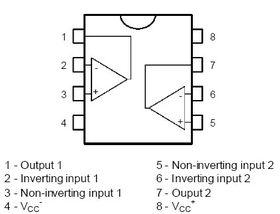 Dual Op-Amp LM358