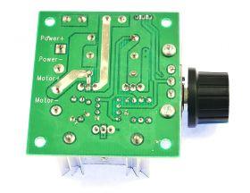 Rear of 10A Motor Speed Controller