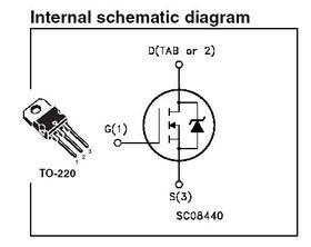 STP55NF06L MOSFET Logic N 60V 55A Transistor