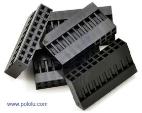 2x10-Way Crimp Housing for Pre-Crimped Wires