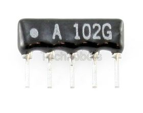 Resistor Network 4-Commoned 470R