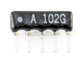 Resistor Network 4-Commoned 47k