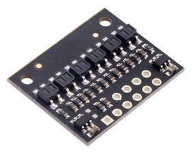Reflectance Sensor QTR-HD-06A, 6 Channel, 4mm Pitch, Analogue Output