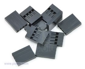 4-Way Crimp Housing for Pre-Crimped Wires