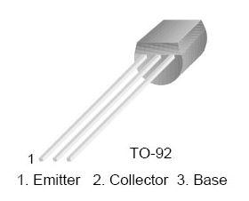 2N5366 PNP 40V 0.5A TO-92 Transistor