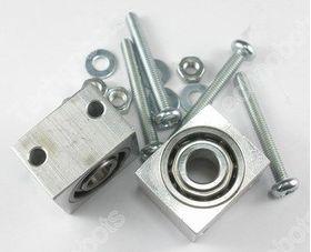 6mm Bearing Blocks pk/2