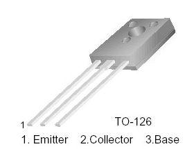 BD136 TO126 47V PNP Transistor