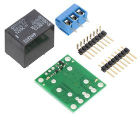 Pololu SPDT Relay Carrier PCB Kit with 12Vdc Relay