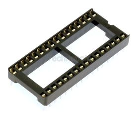 Low Profile 0.6 inch DIL IC Socket 32 Pin