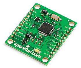 Sparkfun WTV020SD Audio Breakout Board :: Solarbotics