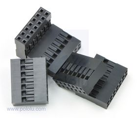 2x7-Way Crimp Housing for Pre-Crimped Wires