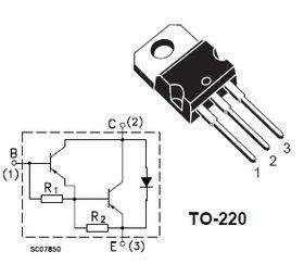 TIP112 Darlington NPN 2A 100V Transistor