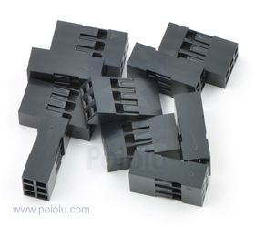 2x3-Way Crimp Housing for Pre-Crimped Wires