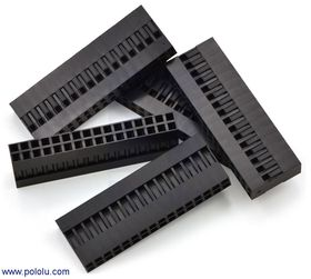 2x20-Way Crimp Housing for Pre-Crimped Wires
