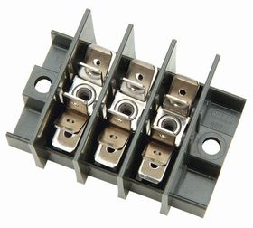 25A 3-way Power Distributor Block