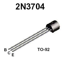 2N3704 50V TO92 NPN Transistor