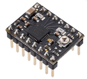 Pololu A4988 Stepper Motor Driver Carrier Black Edition with Headers