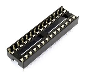 Low Profile 0.3 inch DIL IC Socket 28 Pin