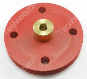 40mm Model Pulley with Brass Hub