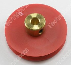 30mm Model Pulley with Brass Hub