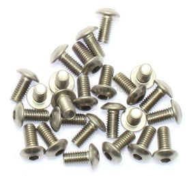 Button Head Stainless M3 x 6mm pk/25