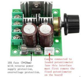 10A Controller Potentiometer