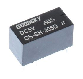 Relay PCB DPDT 1A 5V