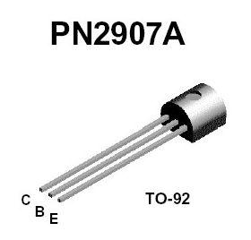 PN2907A PNP 60V 5A TO-92 Transistor