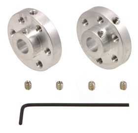 Pololu Mounting Hub 6mm + M3 Mounting, Pack of 2