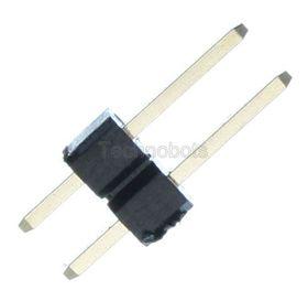 Gold Plated PCB Header 2.54mm 2-way