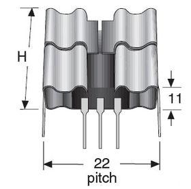 PF758 TO220 Heatsink 17.3C/W