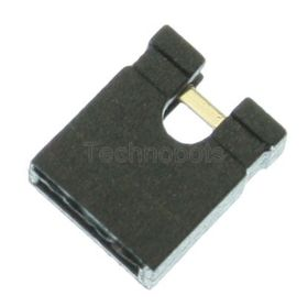 2.54mm PCB Jumper Link Black