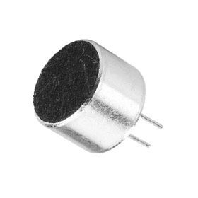 Electret PCB Mounting Microphone 10mm Dia x 7mm