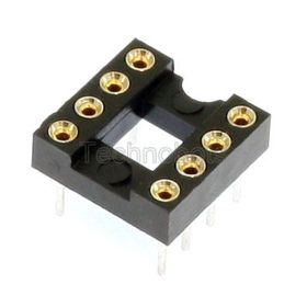Turned Pin 0.3 inch Dil IC Socket 8 Pin