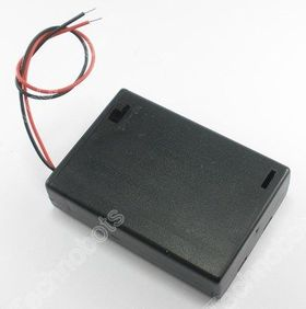 3 x AA Switched Battery Box with Leads
