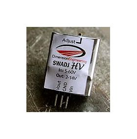 HV Step Down Adjustable Switching Voltage Regulator