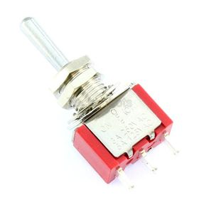 SPDT on/off/(on) Miniature Toggle Switch