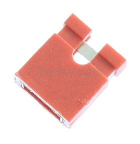 2.54mm PCB Jumper Link Red