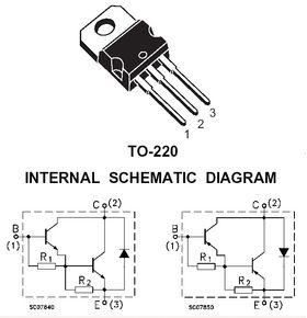 TIP121 80V 5A NPN Darlington Transistor