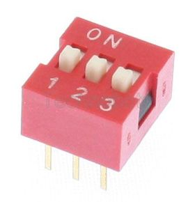 Value 3 Way 6 Pin DIL Switch