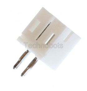JST PH 2mm 2-Way Straight PCB Header (Male Socket)